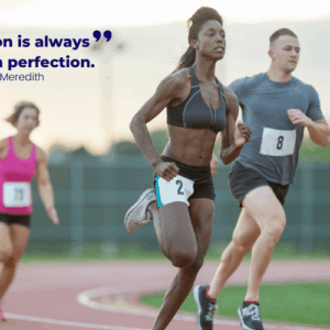 Progress Beats Perfection